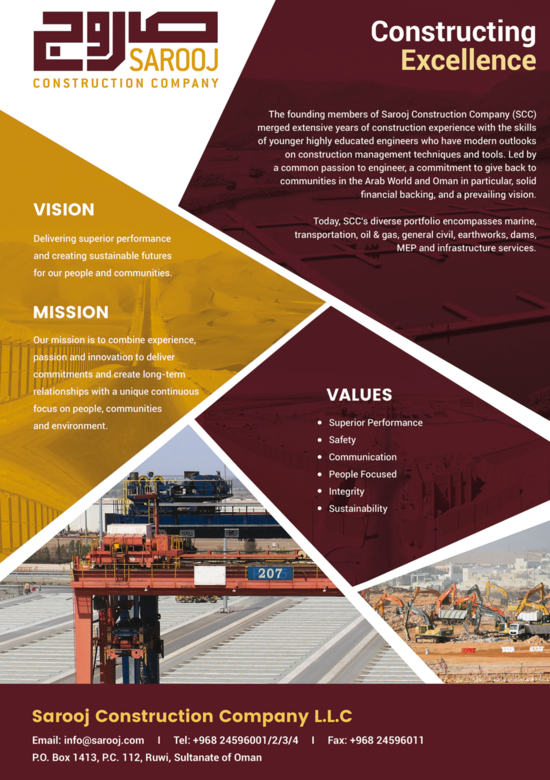 Oman Construction Research & Analysis 2019 | Oxford Business Group