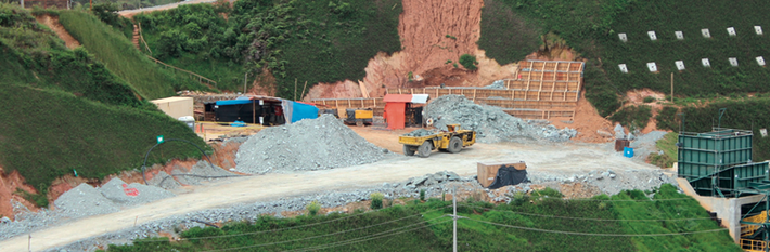Colombia 2019 - Mining