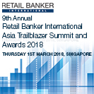 Retail Banker International Asia Trailblazer Summit and Awards 2018