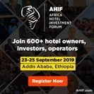 The Africa Hotel Investment Forum (AHIF) 2019