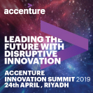 Accenture Innovation Summit 2019 banner advert