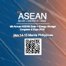 4th ASEAN Solar + Energy Storage Congress and Expo 2019