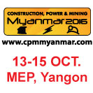 Construction, Power & Mining Myanmar 2016