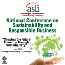 National Conference on Sustainability and Responsible Business banner
