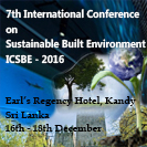7th International Conference on Sustainable Build Environment event banner