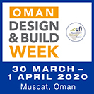 Oman Design & Build Week 2020 Banner advert
