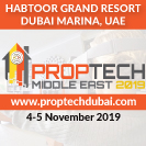 2nd Annual PropTech Middle East Summit 2019 Banner advert