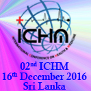 2nd International Conference on Health and Medicine (ICHM) event banner