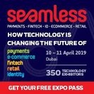 Seamless Middle East 2019 Banner advert
