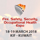 Kuwait Fire, Safety, Security, Occupational Health Expo Banner advert