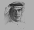 Sketch of Fouad Rashid, Director, Bahrain Bourse (BHB)