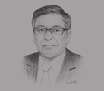 Sketch of Mohamed Chami, Director-General, Algerian Chamber of Commerce and Industry