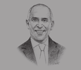 Sketch of Francesco Starace, CEO, ENEL