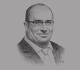 Sketch of Touffik Fredj, President and CEO for North-west Africa, General Electric