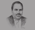 Sketch of Boualem Djebbar, President, Association of Banks and Financial Institutions; and President, Economic Interest Group