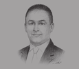 Sketch of Sami Mainich, General Manager, Dow Chemical Maghreb