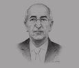 Sketch of Abdelmadjid Tebboune, Minister of Housing and Urban Development