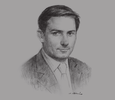 Sketch of Samy Laghouati, Partner, Gide Loyrette Nouel