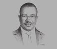 Sketch of Gideon Muriuki, Group Managing Director and CEO, Co-operative Bank of Kenya