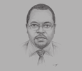 Sketch of Gichiri Ndua, Managing Director, Kenya Ports Authority (KPA)
