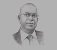 Sketch of Bob Collymore, CEO, Safaricom