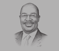 Sketch of Noah O Midamba, Vice-Chancellor and CEO, KCA University; and Professor of Defence and Foreign Policy