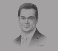 Sketch of Dante Campioni, CEO and Managing Director, ALEXBANK