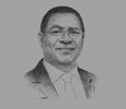 Sketch of Sindiso Ndema Ngwenya, Secretary General, Common Market for Eastern and Southern Africa (COMESA)