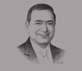 Sketch of Tarek El Molla, Minister of Petroleum and Mineral Resources