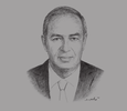 Sketch of Yehia Zaki, Director of Operations, Egypt, Dar Al-Handasah