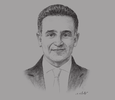 Sketch of Magued Sherif, Managing Director, SODIC