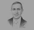 Sketch of Prof. Ismail Abdel Ghafar Ismail Farag, President, Arab Academy for Science, Technology & Maritime Transport