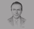 Sketch of Alaa Diab, CEO, Agriculture Group - PICO