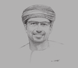 Sketch of Abdulaziz Mohammed Al Balushi, CEO, Ominvest