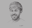 Sketch of Fawzi Al Harrassy, Executive Director, Teejan Group