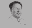 Sketch of Paul Sheridan, Managing Partner, Dentons