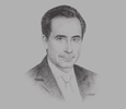 Sketch of Jorge Familiar, Vice-President for Latin America and the Caribbean, World Bank