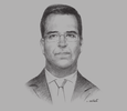 Sketch of Christian Laub, President, Lima Stock Exchange (Bolsa de Valores de Lima, BVL)