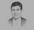 Sketch of Orlando Marchesi, Lead Partner, Tax and Legal, PwC Peru