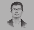 Sketch of Liman Zhang, Managing Director, Huawei