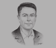 Sketch of Philippe Luxcey, Managing Director, Apollo Towers Myanmar