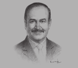 Sketch of Abdul Hussain bin Ali Mirza, Minister of Energy