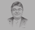 Sketch of Mauricio Cárdenas, Minister of Finance and Public Credit