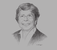 Sketch of Arturo García Rosa, President and Founder, South American Hotel & Tourism Investment Conference (SAHIC)