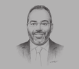 Sketch of Carlos Lopes, Executive Secretary, UN Economic Commission for Africa