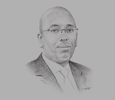 Sketch of Youssef Dawaleh, President, Chamber of Commerce of Djibouti