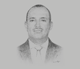 Sketch of Houssein Ahmed Houssein, General Manager, Horizon Djibouti Terminals Limited (HDTL)