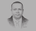 Sketch of Ahmed Osman Guelleh, Chairman, GSK Group