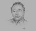 Sketch of Abdoulkarim Al Gamil, Chairman, Al-Gamil Group