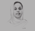 Sketch of Amina Abdi Aden, Secretary of State for Housing